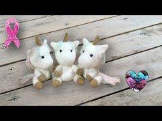 Bébé licorne: tutoriel au crochet, présenté par Lidia Crochet Tricot