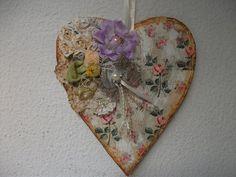 DIY: Faça voce mesma coração vintage de caixa de leite, heart crafts