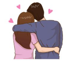 65 New Ideas For Love Art Romance Illustrations Cute Couple Drawings, Cute Couple Art, Love Drawings, Cute Couples, Love Cartoon Couple, Cute Love Cartoons, Anime Love Couple, Cute Love Pictures, Cute Love Gif
