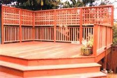 privacy fences decks - ClientConnect Yahoo Image Search Results