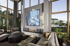 Susan Fredman House 6 Creative Modern Hillside House in San Francisco with Spectacular Views
