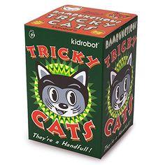 11/19/2016 -- One Blind Box Tricky Cat Mini Figure Kidrobot. Only $19.99! :)