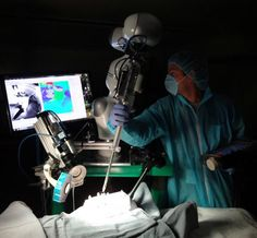 Robot performs surgery on soft tissue better than human hands