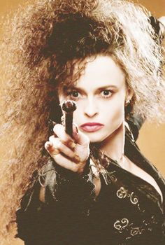 Bellatrix Lestrange- she's so awesome at any role, really, but this one she's bat-s* crazy