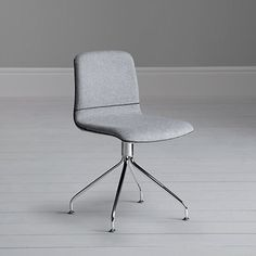 John Lewis Genoa Office and Dining Chair grey