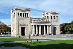 Leo von Klenze, Propylaea, Königsplatz, Munich