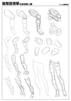 Legs tutorial by Krenz Cush