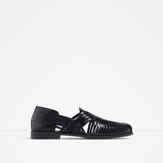 Image 1 of LEATHER SANDALS from Zara