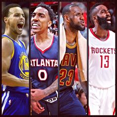 「And then there were four. The teams that led the NBA in playoff 3-point attempts per game heading into today are the last four standing.」