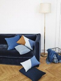 Louise Roe Copenhagen celebrates the sincerity and elegance of authentic materials and bringing out their true grace. Contemporary Cushions, Contemporary Design, Modern Design, Little Architects, Closet Colors, Interior Styling, Interior Design, Textiles, Scandinavian Modern