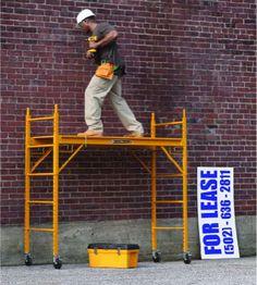 ANDAMIO MÓVIL DE ACERO 1.80M Create A Board, Color Psychology, Iron Work, Scaffolding, Bushcraft, Wood Furniture, Tools, Aluminium Scaffolding, Portable Scaffolding