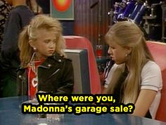 "When she questioned Michelle's fashion choices. | Community Post: 20 Times Stephanie Tanner Was The Baddest Bitch On ""Full House"""