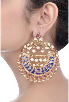 Indian bridal earrings, jewelry, jewellery...