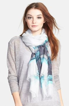 Nordstrom 'Horizon' Cashmere & Silk Scarf available at #Nordstrom