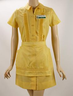 Retro 1960 Style Diner Waitress Dress XL