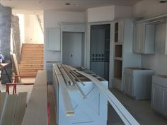 Cabinets are going in!