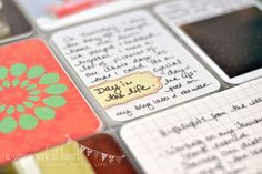 Two little freebies for you this week - printable labels, perfect for embellishing photos or journaling cards with a title or date.