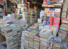 Al azabakia A very famous place in cairo Egypt to ell old used books with very low prices