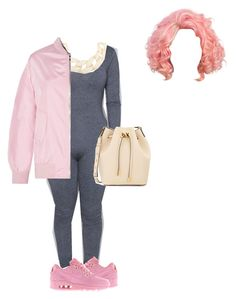 """I don't pop molly I rock Michael Kors"" by amari-hylton ❤ liked on Polyvore featuring Kenneth Jay Lane, NIKE, Michael Kors, women's clothing, women, female, woman, misses and juniors"