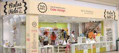 Arte pasteleira no Strada Shopping § Fashion Outlet
