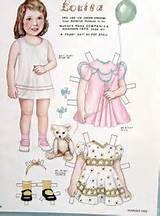Paper Dolls Vintage Paper Dolls