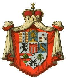 coat of arms Land Vorarlberg, Austria Austria, Banner, Holy Roman Empire, Knights Templar, Family Crest, Crests, Types Of Art, Coat Of Arms, Medieval