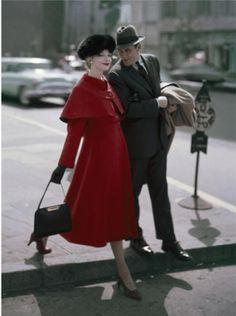 Glamour magazine, 1956 Photo by Sante Forlano