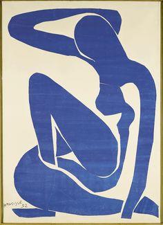 Henri Matisse Nu bleu 1, 1952