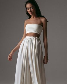 Chic Outfits, Trendy Outfits, Fashion Outfits, All White Outfit, Prom Dresses Blue, Looks Vintage, Elegant Outfit, Kimono Dress, Beautiful Outfits
