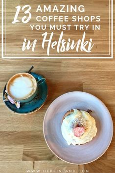 Discover the delicious coffee shops of Helsinki and find your very own coffee mecca in this cool capital of Finland! Here are my local's favorites for the cafes in Helsinki! Finland Destinations, Amazing Destinations, Holiday Destinations, Best Coffee Shop, Coffee Shops, Helsinki Things To Do, Finland Culture, Finland Travel, Finland Food
