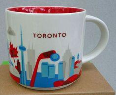 "Toronto - ""You Are Here"" Starbucks Mug"