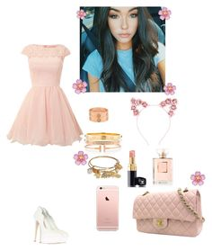 """""""Untitled #628"""" by mariaxl ❤ liked on Polyvore featuring Tiffany & Co., Chi Chi, Carvela, Cartier, Cara and Chanel"""