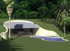 Baldwin O'Bryan Architects - Earth Sheltered House   Earth ...