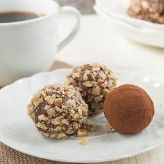 Chocolate Cheesecake Truffles by laurassweetspot