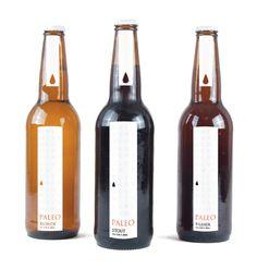 label / Gluten Free Beer Branding by Sammi Collinge
