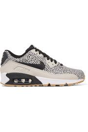 Air Max 90 Premium leather and suede sneakers