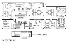 Office Layout Design | Office Layout Plan Office Open Plan, Office Floor  Plan, Office