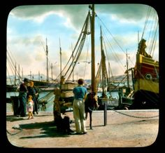 This amazing collection of colourised photographs of Ireland sceneries was taken by an American photographer Branson DeCou Old Pictures, Old Photos, Vintage Photos, Old Irish, Photo Engraving, Ireland Homes, Canoe, Just Go, 1930s