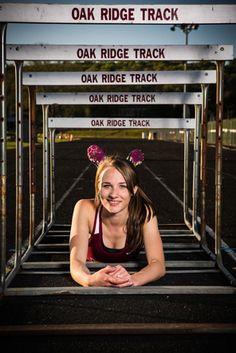 Senior Portrait / Photo / Picture Idea - Track - Girls - Hurdles