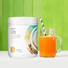 Try this delicious Carrot Cake Protein Shake!  2 scoops Vanilla Shaklee Life Energizing Shake 1/2 cup frozen banana or frozen pineapple 1 cup unsweetened vanilla almond milk 1/2 tsp. pure vanilla extract 1/2 tsp. Cinnamon 3-4 baby carrots  Blend all ingredients in blender until smooth.  #shakleelifeshake
