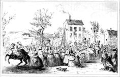 Marche des femmes sur Versailles les 5 et 6 octobre 1789