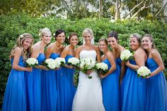 This bridesmaids look stunning! Kristi Midgette Photography http://www.outerbanksweddingassoc.org/membersearch/memberpage.html?MID=1880=Photographers=16