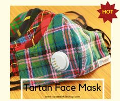 Our Hot Product's🔥 Are On Sales Now - 😷Tartan Face Fabric Masks are recommended to prevent onward transmission in the general population in public areas, particularly where distancing is not possible. These Tartan Masks are available in almost every pattern. Go Grab Your Favorite One. #scottishkiltshop #tartan #tartanmask #scottishkilt #kilt #kiltshop #scottish #tweed #pinterest #pinterestinspired #pinterestpin