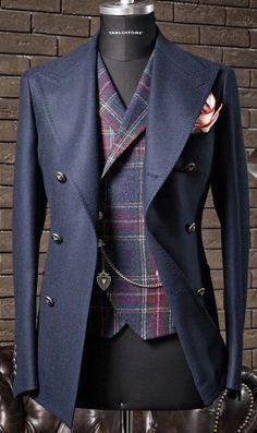 "Nachrichtenmaterial: ""New Sprezzatura"" - Mode - Anzug Dress Suits For Men, Suit And Tie, Men Dress, Sharp Dressed Man, Well Dressed Men, Mode Masculine, Fashion Mode, Look Fashion, Fashion Trends"