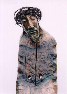 peter eugene ball sculptor Religious Icons, Religious Art, Pray In Spanish, Spirited Art, Sacred Art, Christian Art, Sculpture Art, Christianity, Folk Art