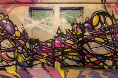 As part of the Rehab 2 festival, 100 graffiti artists were allowed to take over a university dormitory in Paris, which will soon undergo renovations.