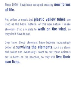 'Strandbeests' - Art meets life?! - Best viewed in motion