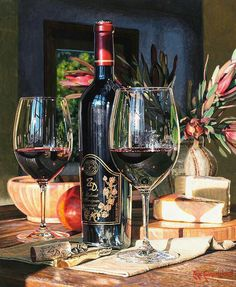 White Wine Basics for Beginners - Taste Of Wine Hyper Realistic Paintings, Romantic Surprise, Wine Art, Still Life Art, Fine Wine, Wine Country, Wine Recipes, Wines, Red Wine