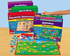 # Lakeshore Dream Classroom  Early Language Folder Game Libraries - Complete Set