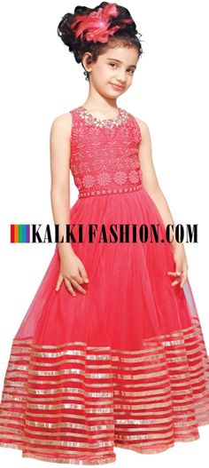 Girls Box Pleat Party Dress - Pink | Baby Clothing Online India ...
